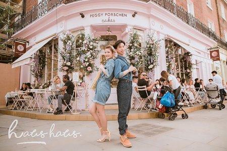 海外旅拍婚紗 x 倫敦    HAUS