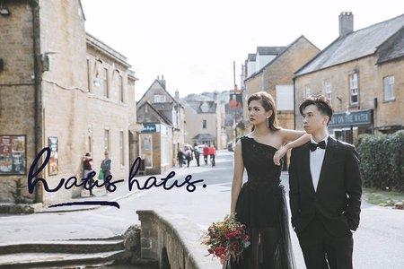 海外旅拍婚紗 x 倫敦| HAUS樣照 |