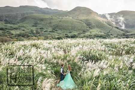 陽明山│婚紗景點| HAUS客照 |