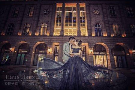【每年精選】市區夜景婚紗  HAUS客照  