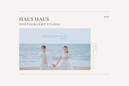 擁抱沙灘海浪之美:海洋沙灘浪漫婚紗|外景|HAUS
