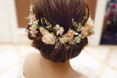 新娘造型分享~