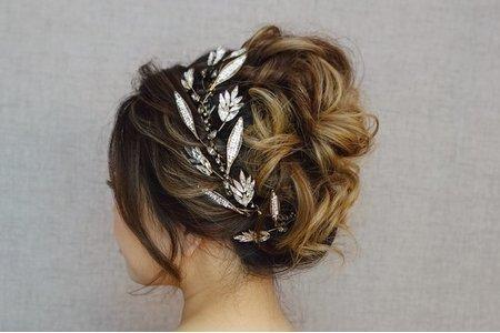 —新娘髮妝作品—
