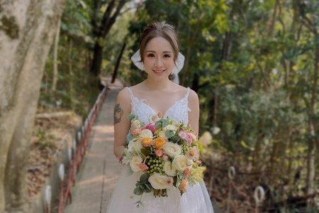 新娘造型作品/羽羽