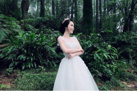 森林白紗造型
