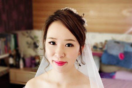 迎娶儀式白紗乾燥花造型