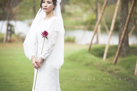 Vintage Dress韓式古典蕾絲