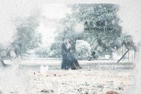 承宏 ❤️ 宜庭 | 平面攝影 | 婚禮紀錄 | 夢時代雅悅會館 | 一拍二錄小資方案 |