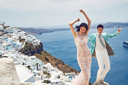 7Rose | 海外婚紗 | 希臘-夢幻天堂聖托里尼