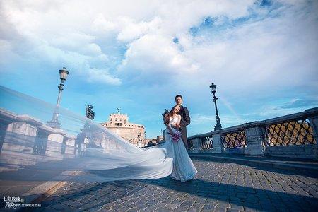 7Rose | 海外婚紗 | 義大利-羅馬假期