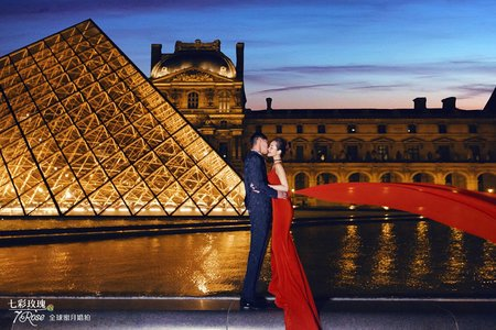 7Rose | 海外婚紗 | 法國-品味巴黎