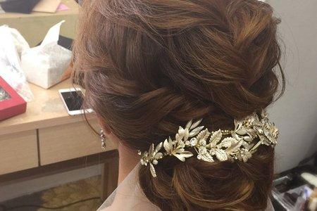 高指定款新娘髮型