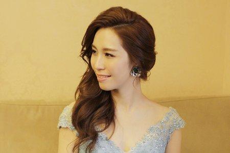 浪漫款新娘髮型