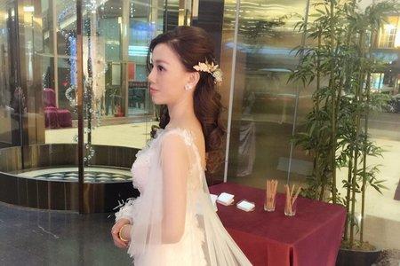 婚宴上也能有仙仙的造型