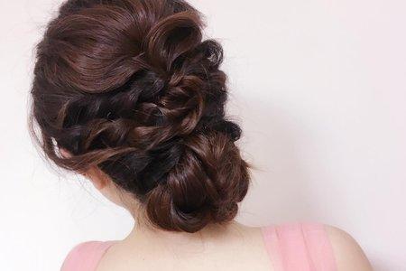 低髻辮髮vs韓系公主辮