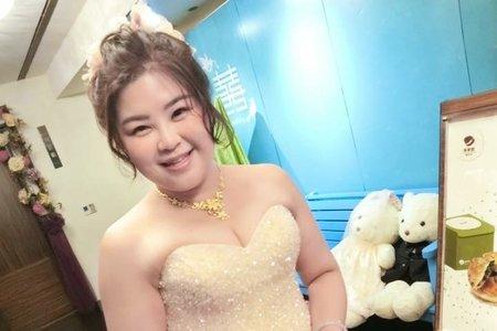 甜美公主風✨白紗進場造型
