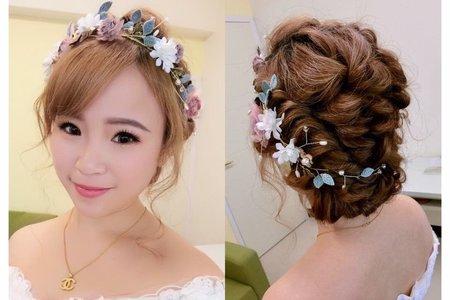 分享?美美的花圈編髮造型?✨