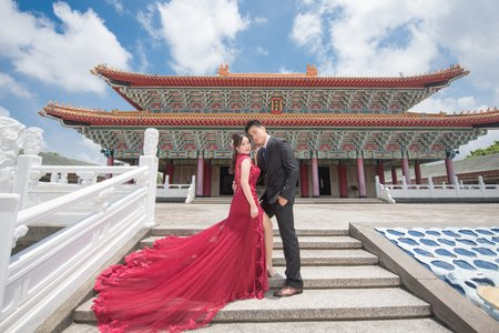 高雄攝影棚 西子灣 孔廟 唯美婚紗