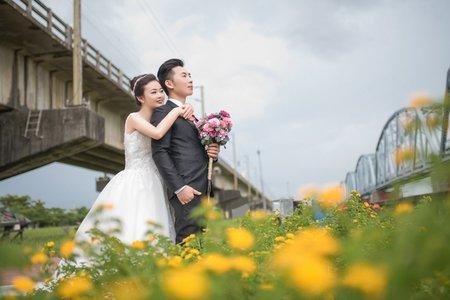 高雄舊鐵橋 大東濕地婚紗
