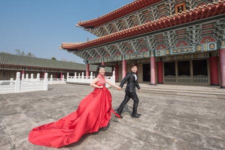 孔廟拍婚紗就是威