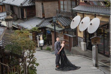 日本京都楓葉和服婚紗,限量三對名額