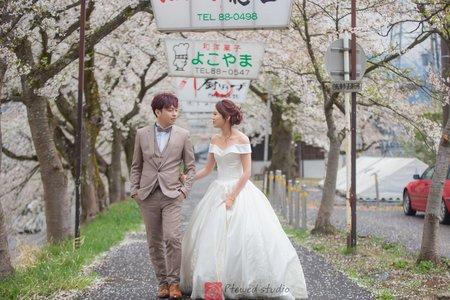 日本櫻花婚紗只要69800元
