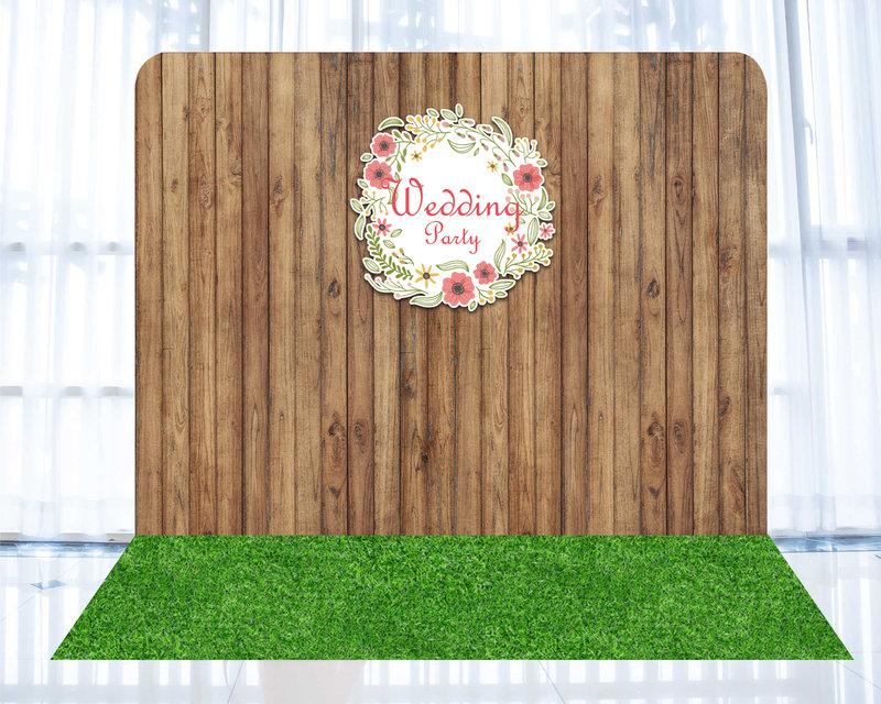 婚禮背板c