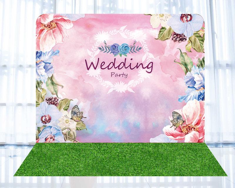 婚禮背板b