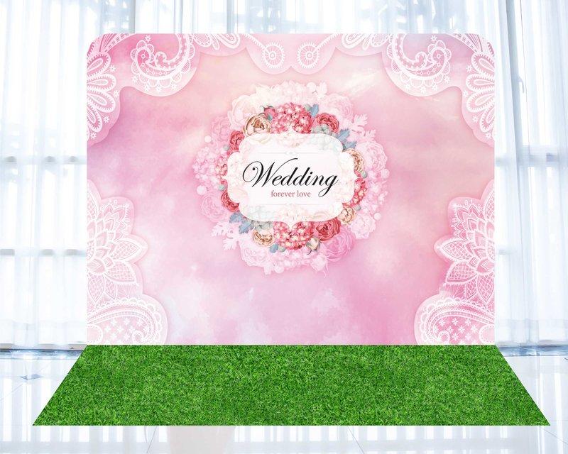 婚禮背板a
