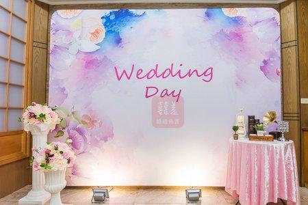 5000婚禮背板包套方案