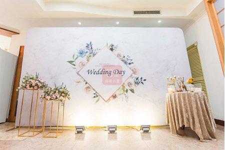 7000婚禮加寬背板包套方案