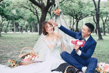 大安森林公園 公園婚紗 婚紗攝影 輕婚紗 自助婚紗