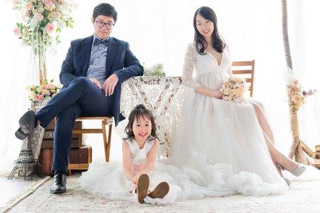 台南│ 親子系列│ 孕婦全家福