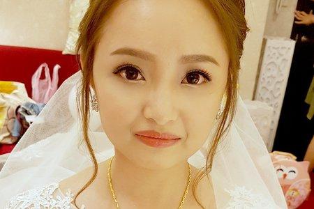 Jula Chang 婚禮現場 俏麗馬尾造型