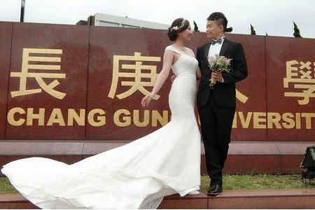 惠筠婚紗照造型