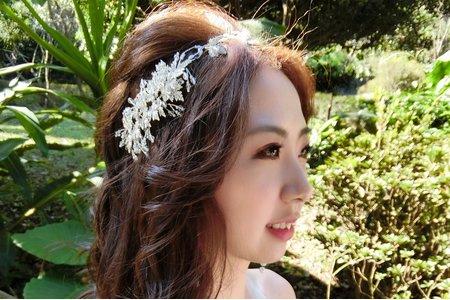 甜美新娘Vikey婚紗造型記錄