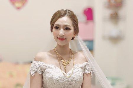 氣質新娘cookie 婚禮造型記錄