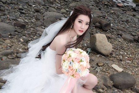Sabrina彩妝造型/自助婚紗/韓式清透妝髮