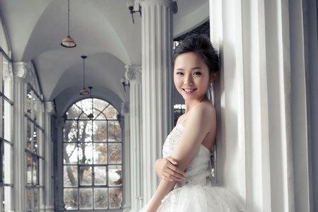 Sabrina彩妝造型/自助婚紗/可愛公主風