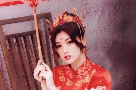 Sabrina彩妝天地/秀禾服/古典美人II/美到炸