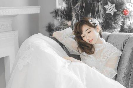 Sabrina彩妝造型/古典婚紗/典雅公主風