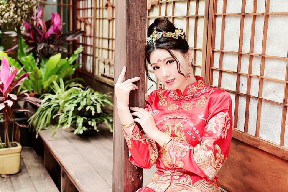 Sabrina彩妝天地/秀禾服古典美人/龍鳳褂 - Sabrina's彩妝造型/新竹竹北新秘 - 結婚吧