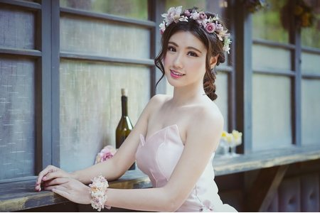 Sabrina彩妝造型/粉粉浪漫風