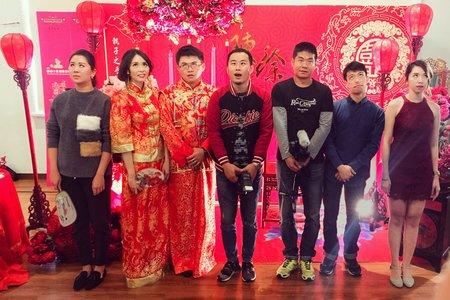 最狂中式婚禮