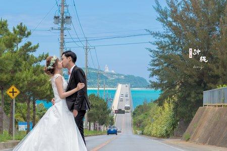 沖繩婚紗  ▎彼+歆  ▎海外婚紗