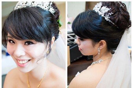 天使新娘-苡伶結婚乾燥花造型