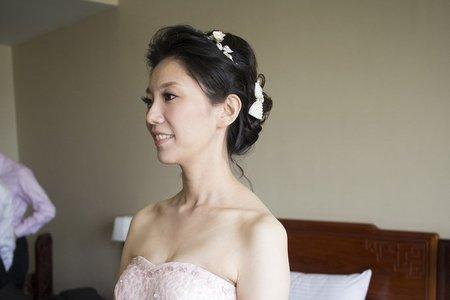 慧敏文定髮妝-台中福華飯店