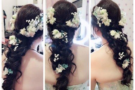 宜蓁不凋乾燥花造型~仙仙風
