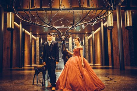 婚禮紀錄 GD 爆米花 攝影師:徐傑 。台鋁晶綺盛宴|珍珠廳