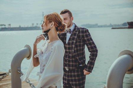 爆米花 婚禮記錄 禮服拍攝